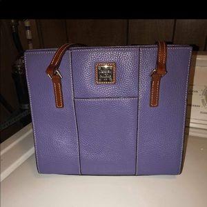 Purple Dooney Bourke